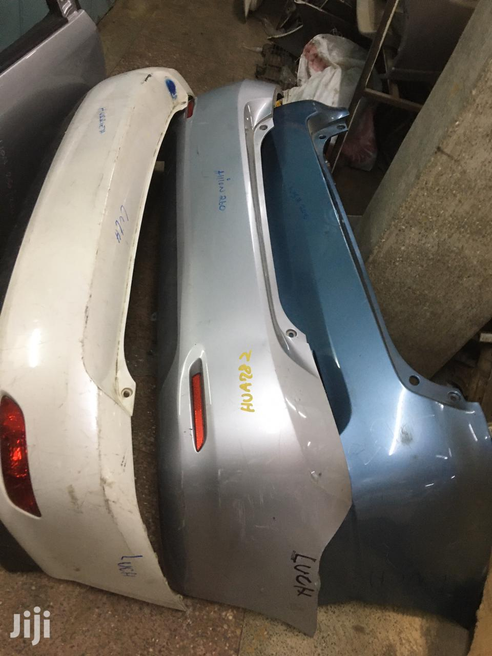 Toyota Rear Bumpers