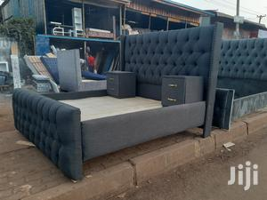 5 by 6 Chester Bed + 2 Side Drawers   Furniture for sale in Nairobi, Kahawa