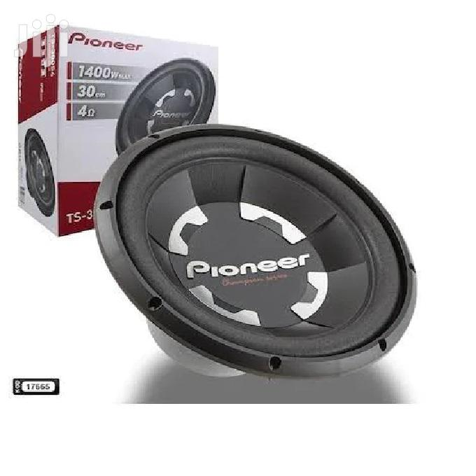 "Pioneer Car Subwoofer TS-300S4 12"" 1400 Watts Bass Speaker."