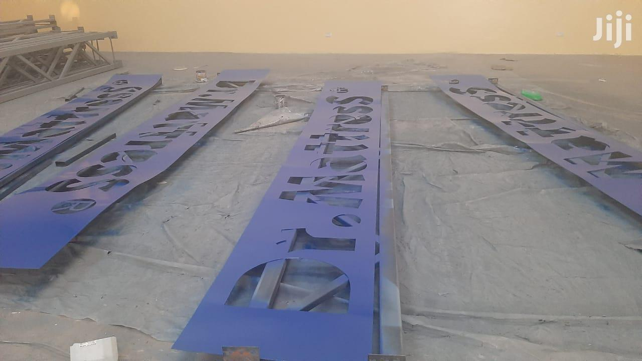 Fabrication Of 3D Signage Light Box | Manufacturing Services for sale in Nairobi Central, Nairobi, Kenya
