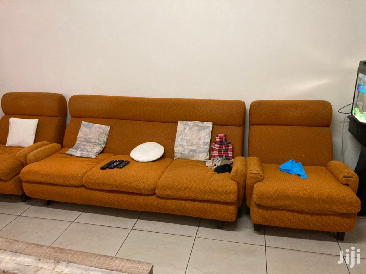 5 Seater Sofa Set Well Used