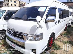 Toyota Hiace 9L Commuter Manual Diesel 2014 White For Sale | Buses & Microbuses for sale in Mombasa, Tudor
