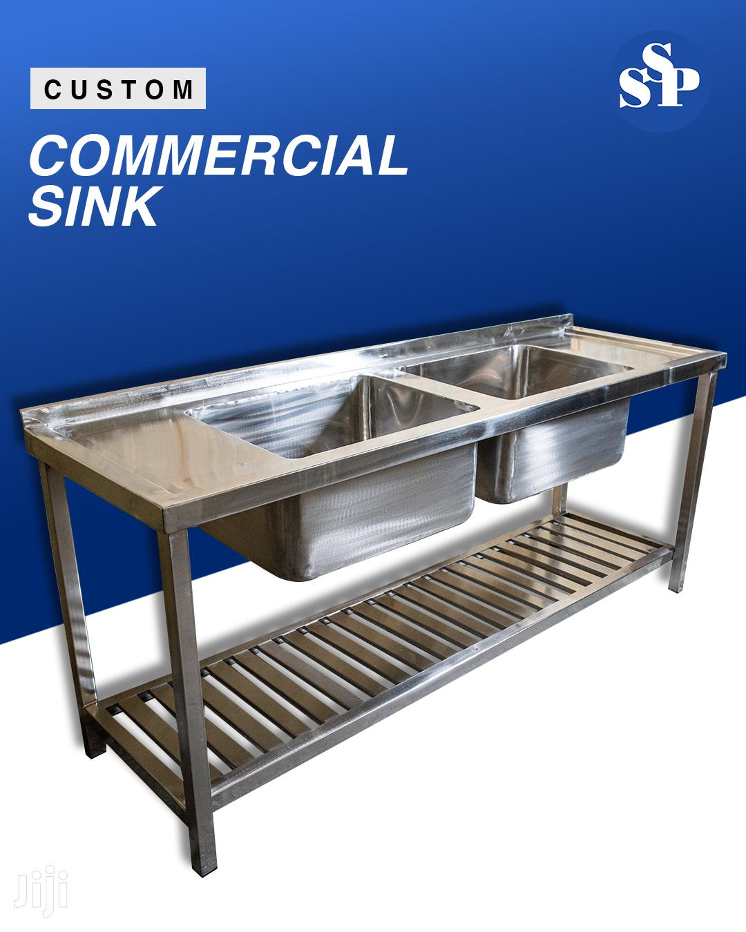Stainless Steel Commercial Kitchen Sinks