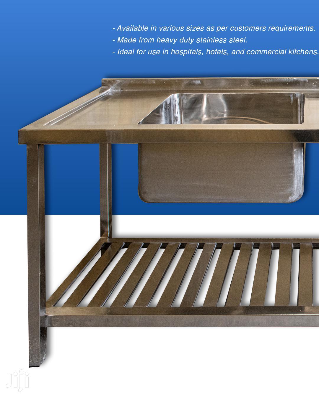Stainless Steel Commercial Kitchen Sinks | Restaurant & Catering Equipment for sale in Industrial Area Nairobi, Nairobi, Kenya