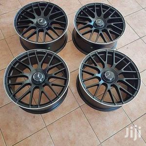 Mercedes Benz Black Sport Rim 17 Inch Set | Vehicle Parts & Accessories for sale in Nairobi, Nairobi Central