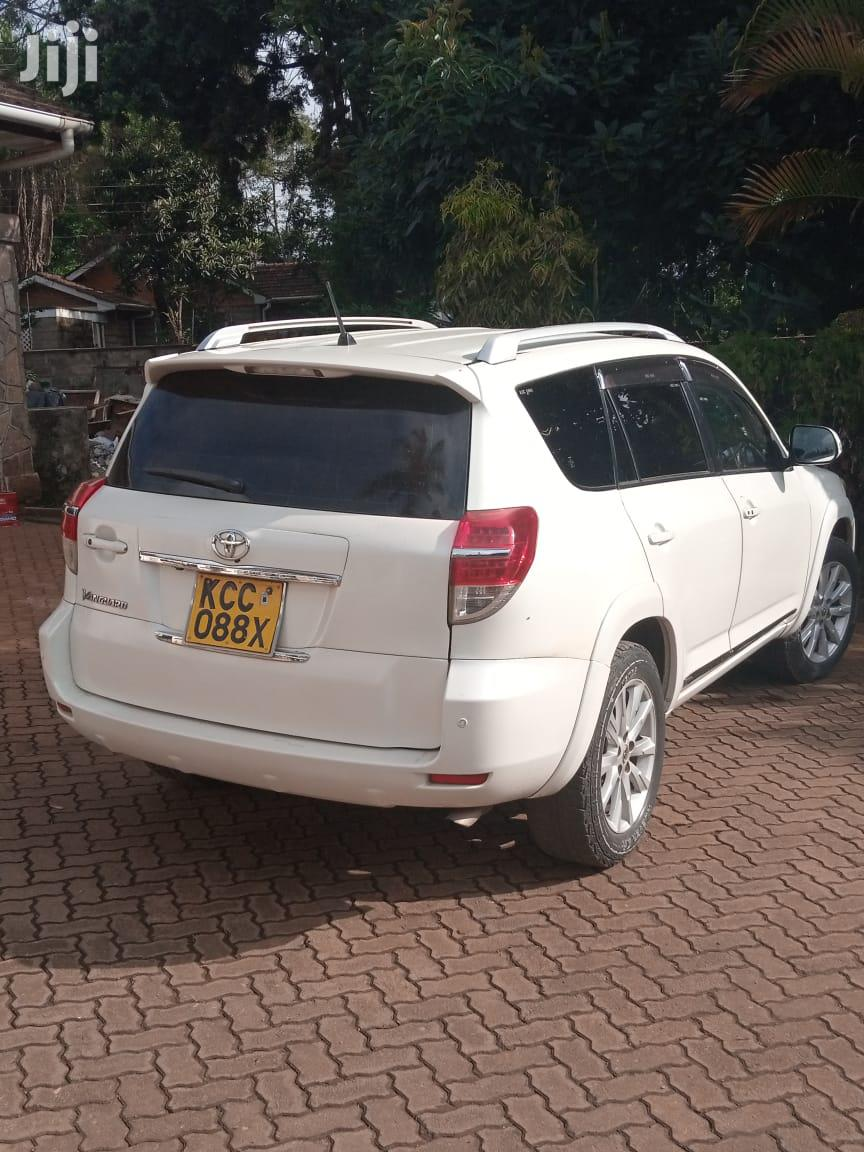 Toyota Vanguard 2010 White   Cars for sale in Karen, Nairobi, Kenya