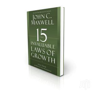 The 15 Invaluable Laws of Growth: John C Maxwell. | Books & Games for sale in Kajiado, Ngong