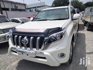 Toyota Land Cruiser Prado 2015 White | Cars for sale in Mombasa, Makadara (Msa)