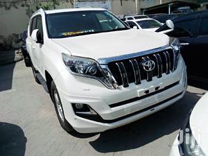Toyota Land Cruiser Prado 2015 White | Cars for sale in Mombasa, Kizingo