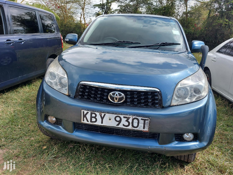 Toyota Rush 2007 Blue