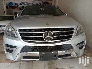 Mercedes-Benz M Class 2013 ML 350 4Matic Silver   Cars for sale in Mombasa, Ganjoni
