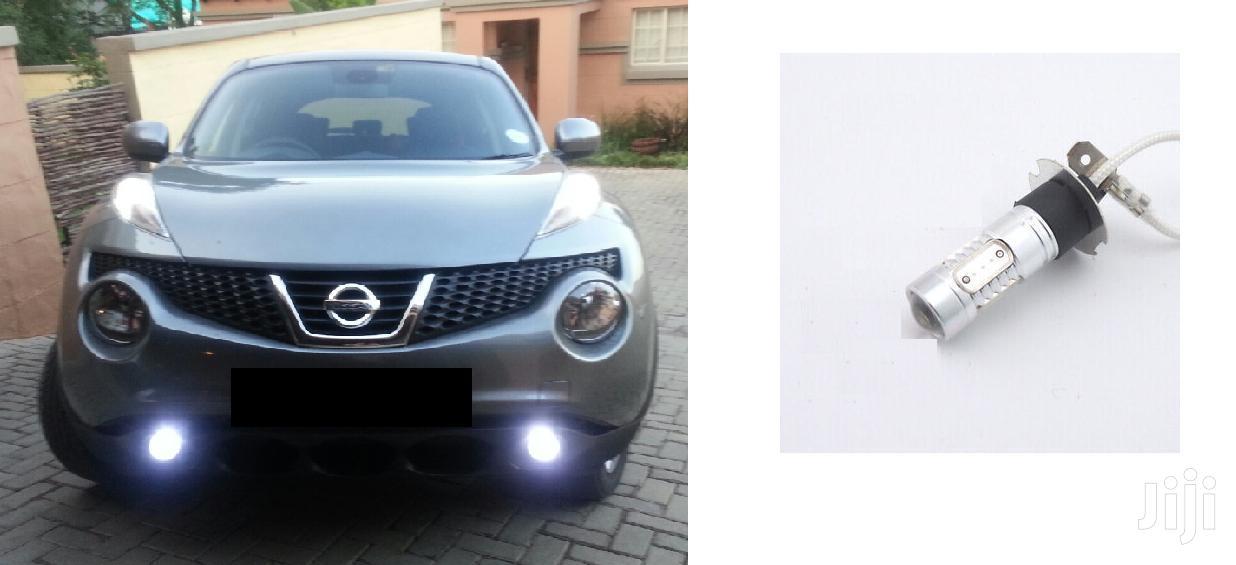 White H3 LED Fog Bulbs:For Subaru,Toyota,Nissan,Mazda,Honda,Mitsubishi