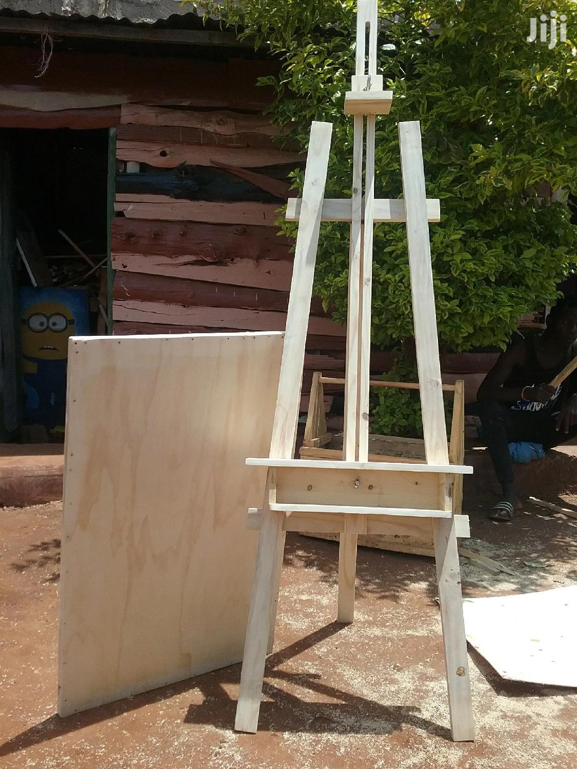Easels and Drawing Board.