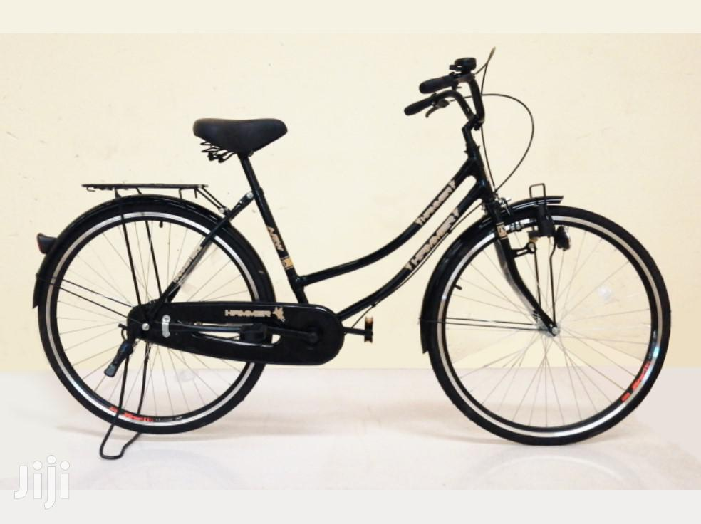 Adult City Bicycle, Black Mamba Type