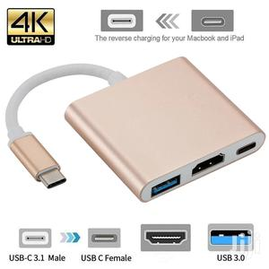 Usb C HDMI Type C Hdmi Mac 3.1 Converter Adapter Typec to Hd | Computer Accessories  for sale in Nairobi, Nairobi Central