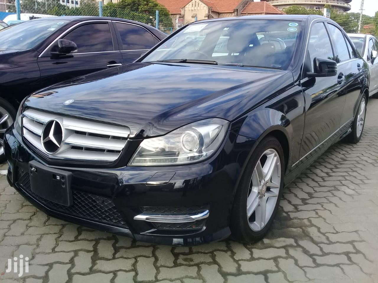 New Mercedes-Benz C200 2013 Black | Cars for sale in Shimanzi/Ganjoni, Mombasa, Kenya