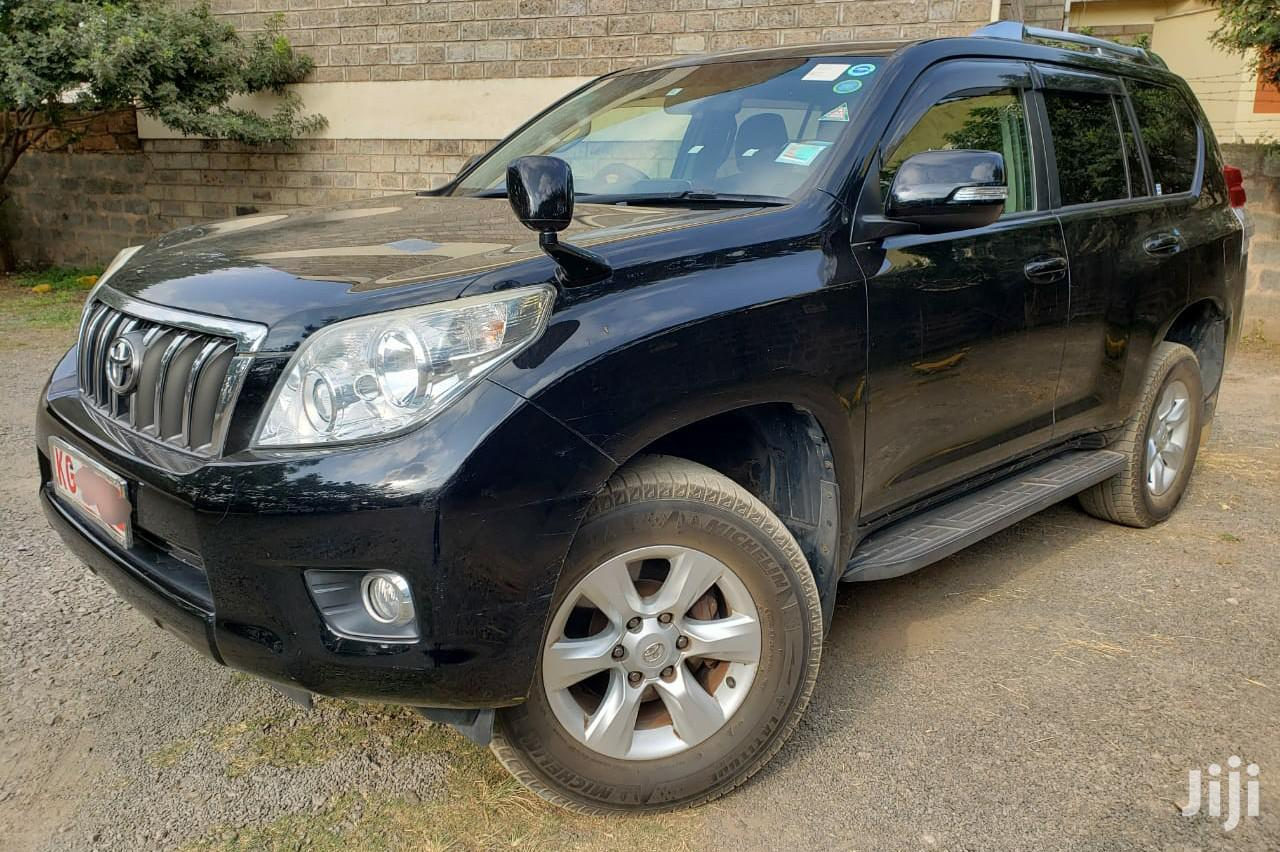 Toyota Land Cruiser Prado 2012 Black