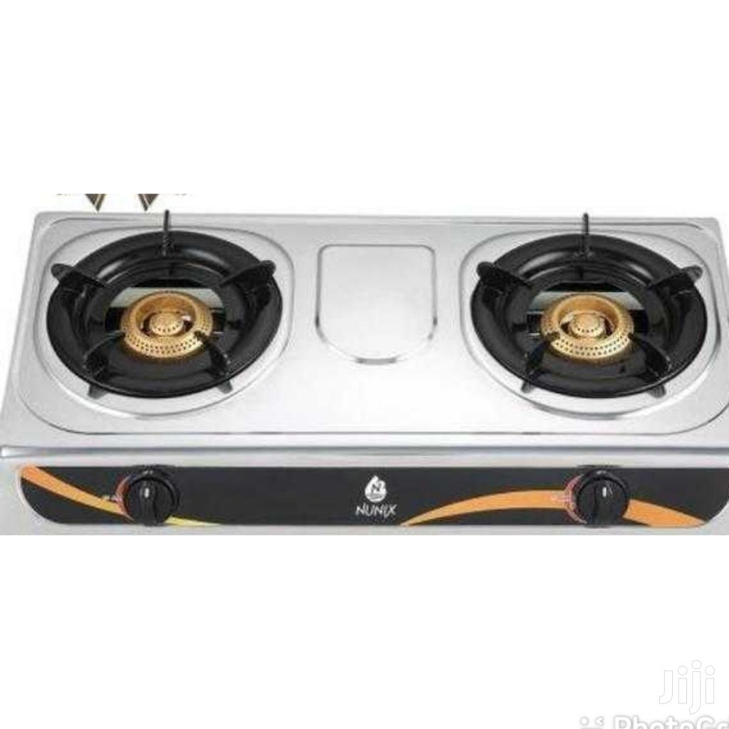 2 Burner Stainless Steel Cook Top Available