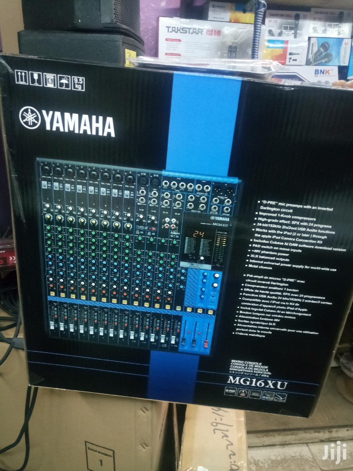 Yamaha Mg16xu | Audio & Music Equipment for sale in Harambee, Nairobi, Kenya