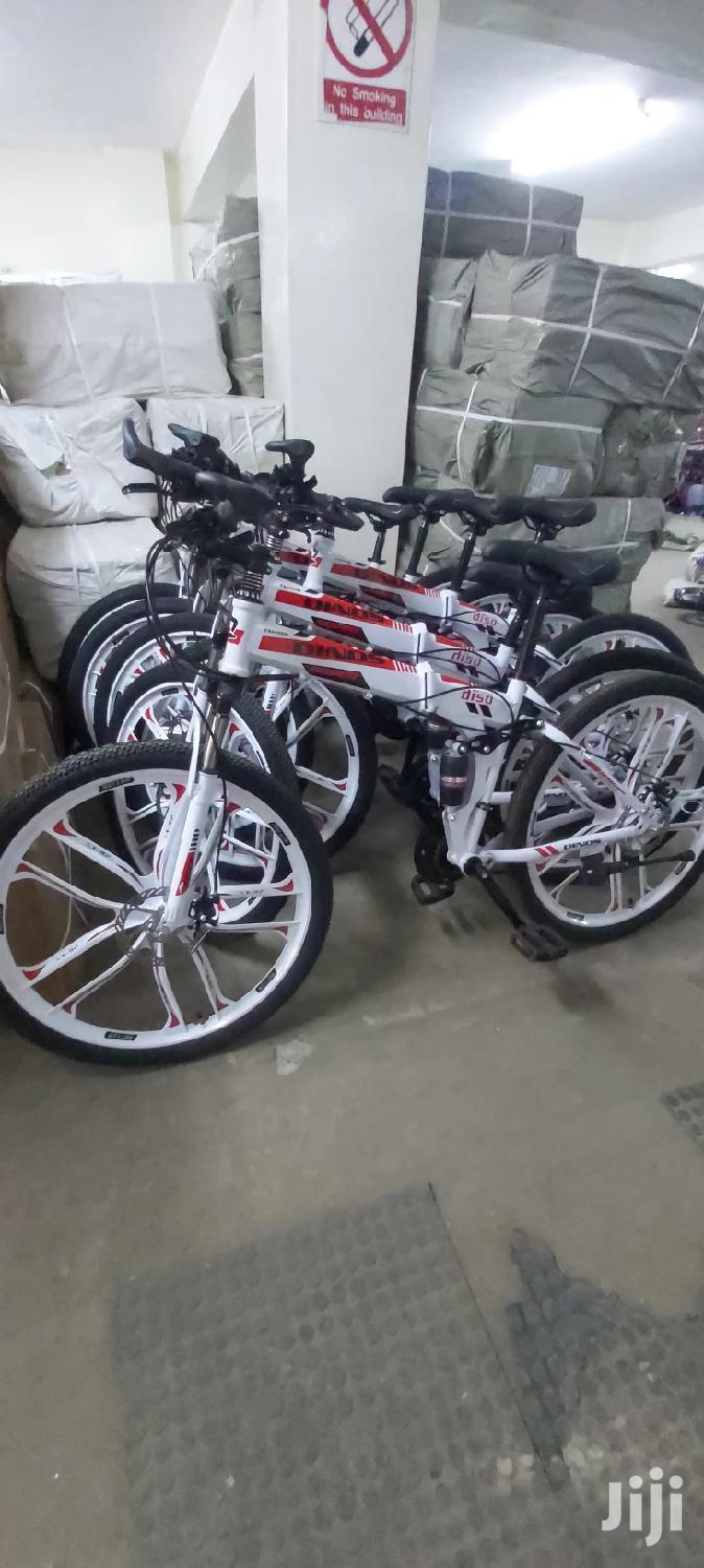 Foldable Sports Bike With Alloy Wheels