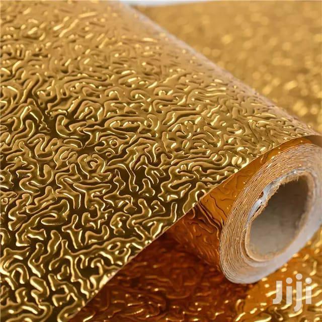 Gold Waterproof Shelf Liners