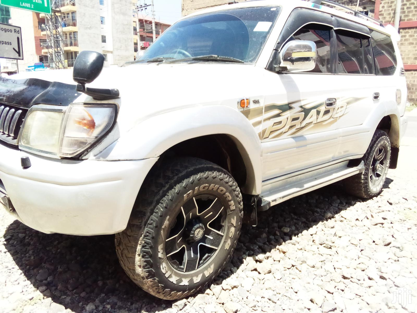 Toyota Land Cruiser Prado 1998 White | Cars for sale in Embakasi, Nairobi, Kenya