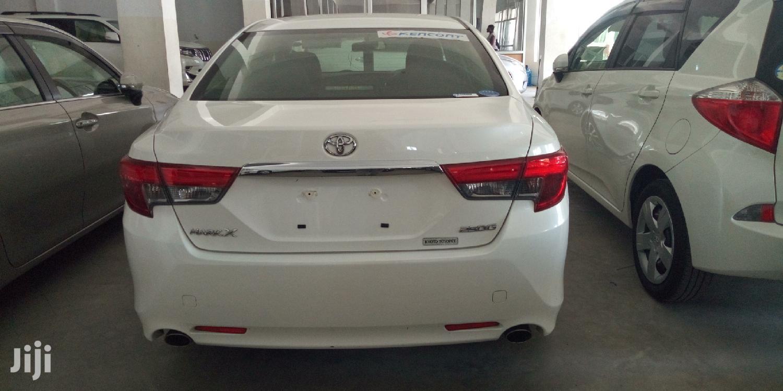 Toyota Mark X 2013 White   Cars for sale in Ganjoni, Mombasa, Kenya