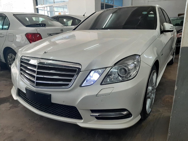 Mercedes-Benz E250 2012 White