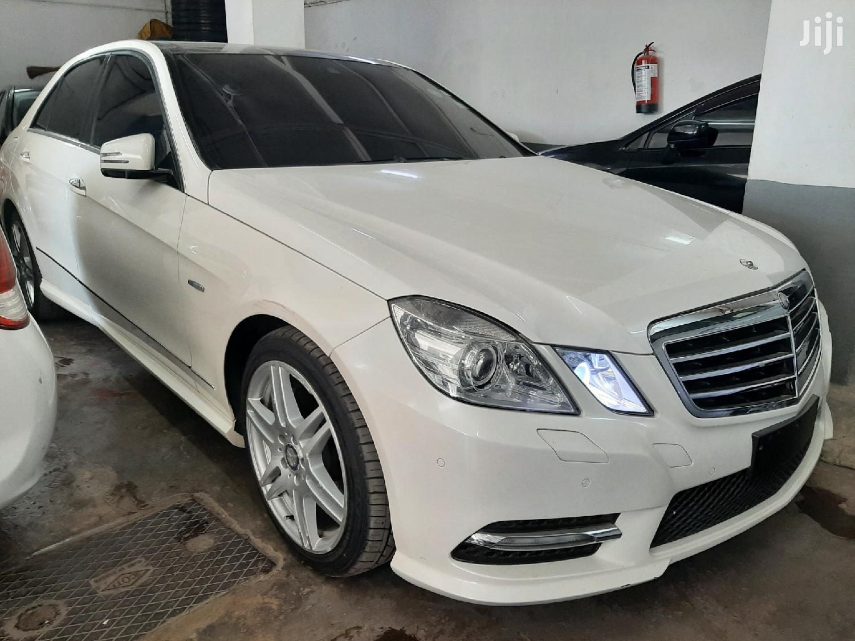 Mercedes-Benz E250 2012 White   Cars for sale in Mombasa CBD, Mombasa, Kenya