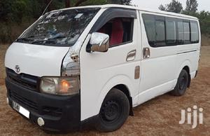 Toyota Hiace 2007 White For Sale   Buses & Microbuses for sale in Nairobi, Karen