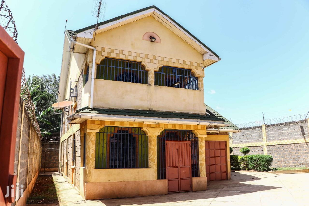 Archive: Mansionette at Thika Landless Gatted Community Near Tarmac.