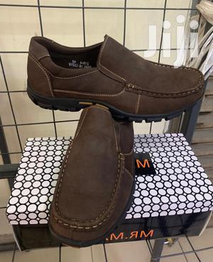 Premium Casual Dark Brown Slip on Men Shoes | Shoes for sale in Nairobi, Nairobi Central