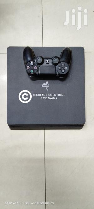 Slim Playstation 4, 500 Gb, Pad   Video Game Consoles for sale in Nairobi, Nairobi Central