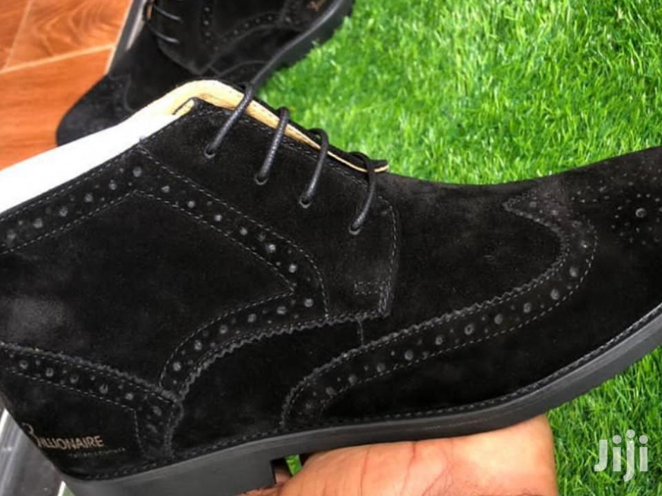 Billionaire Suede Boots