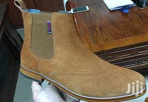Brown Suede Upper - Brown Sole - Polo Chelsea Boots - Men C   Shoes for sale in Nairobi, Nairobi Central