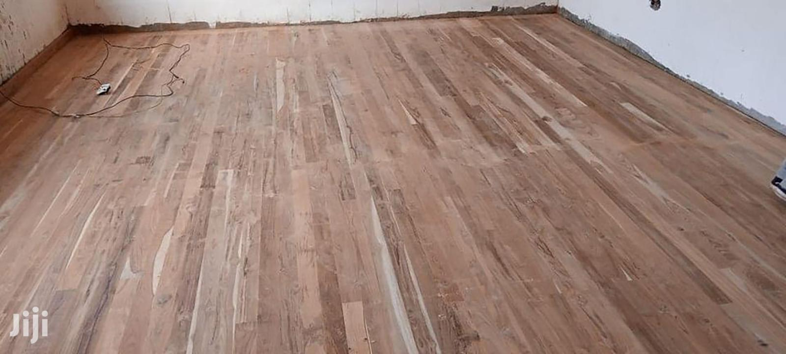 Wooden Floor in Kenya Mahogany Quality