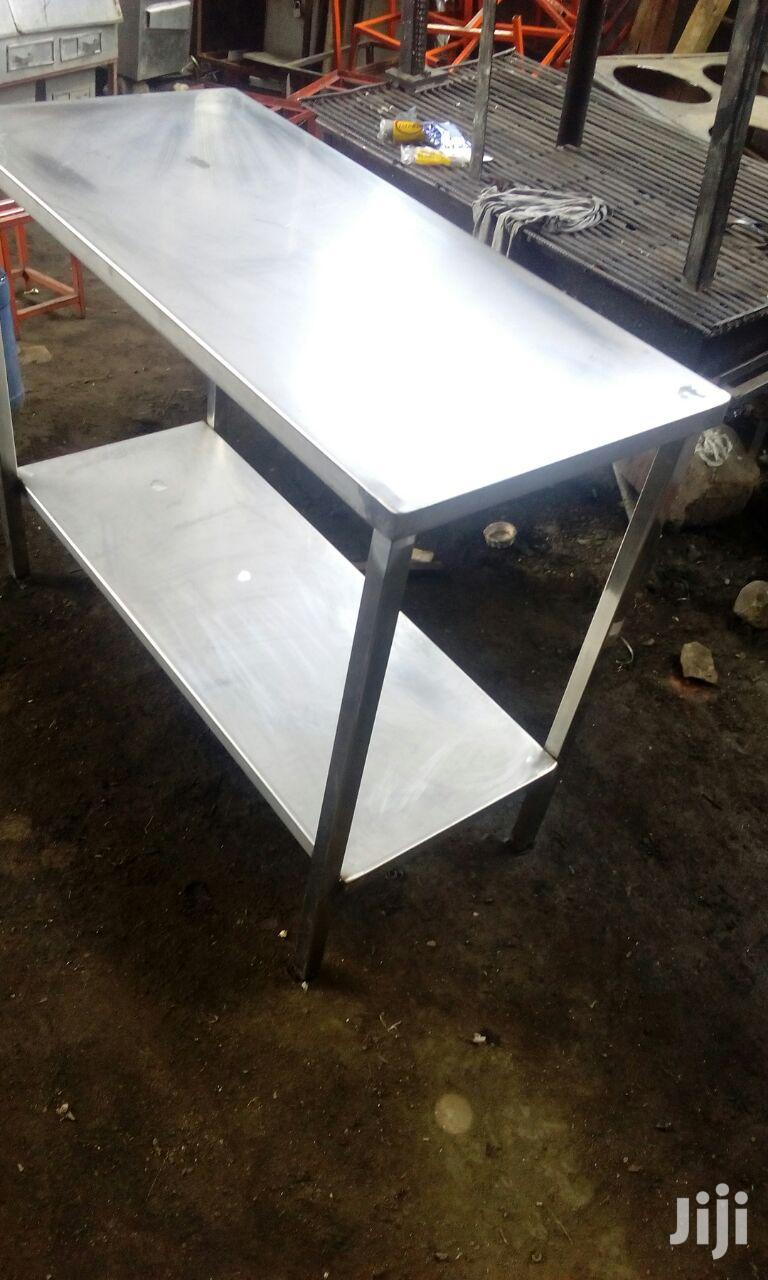 Stainlles Kitchen Tables | Furniture for sale in Pumwani, Nairobi, Kenya