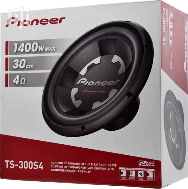 """Car Subwoofer TS-300S4 12"""" 1400 Watts Bass Speaker."""