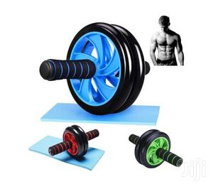 AB Wheel Double Wheel Fitness Abs Roller With FREE Mat   Sports Equipment for sale in Nairobi, Nairobi Central