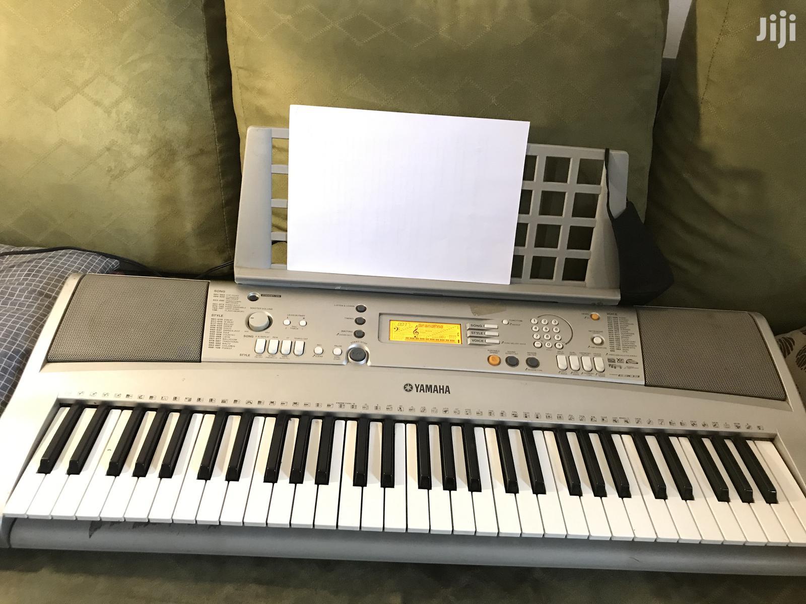 Yamaha Music Keyboard Piano