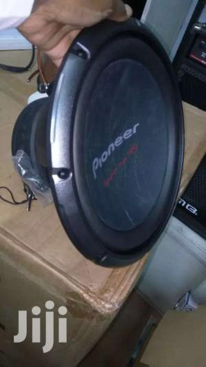 2000 Watts Woofer Pioneer Ts-w3003d4 With Dual Voice Coil New In Shop | Vehicle Parts & Accessories for sale in Nairobi, Nairobi Central