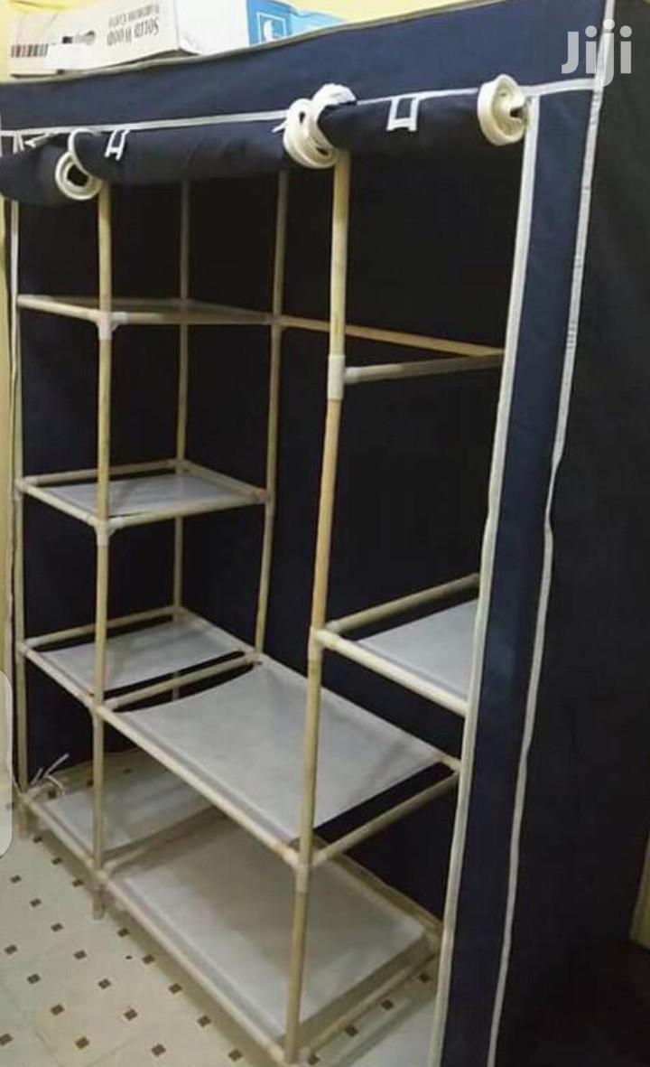 Portable Wardrobe 3 Column
