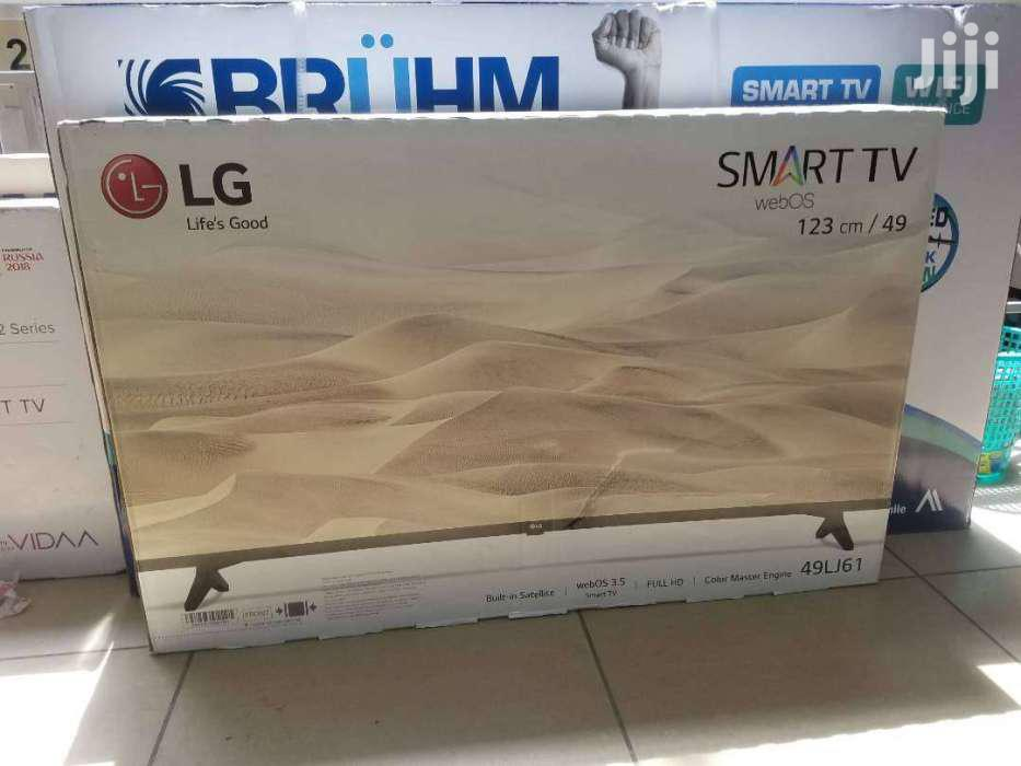 Archive: LG 49 Inch Smart Tv Brand New