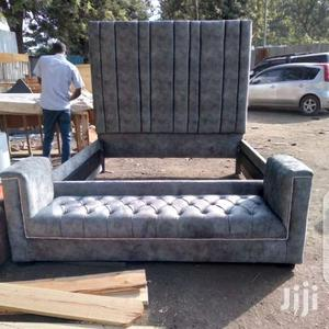 Chester Bed 5 by 6 With Ottoman   Furniture for sale in Nairobi, Githurai
