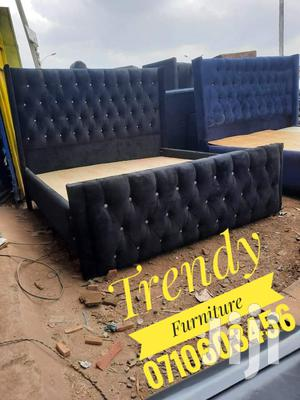5*6 Tufted Bed With Buttoned Headboard   Furniture for sale in Nairobi, Kahawa