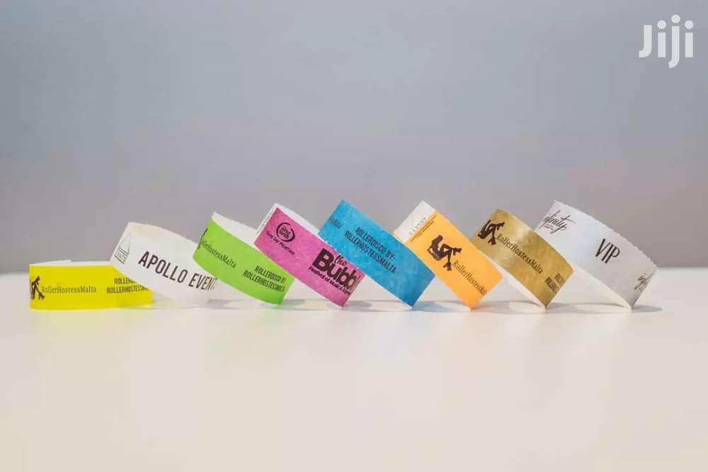 Event Wristbands \\ Event Wristband \\ Event Tags \\ Paper Wristbands