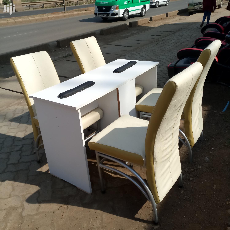 Pedicure Table And Chaird | Salon Equipment for sale in Umoja I, Umoja, Kenya
