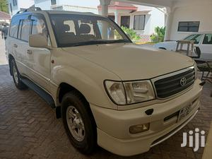 Toyota Land Cruiser 2001 HDJ 100 White | Cars for sale in Mombasa, Ganjoni