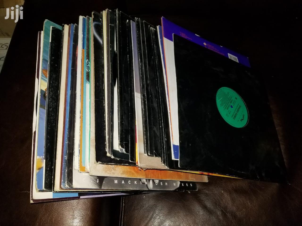 Vinyl Discs Record.