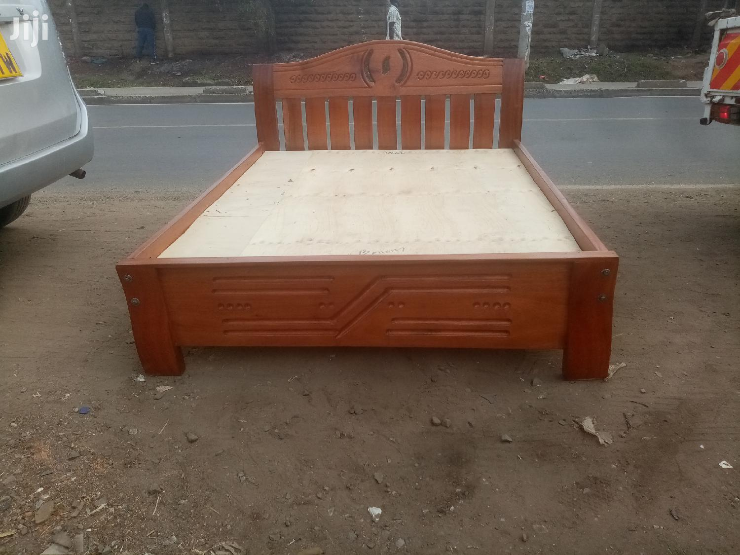 Archive: Pure Mahogany Bed 4by6